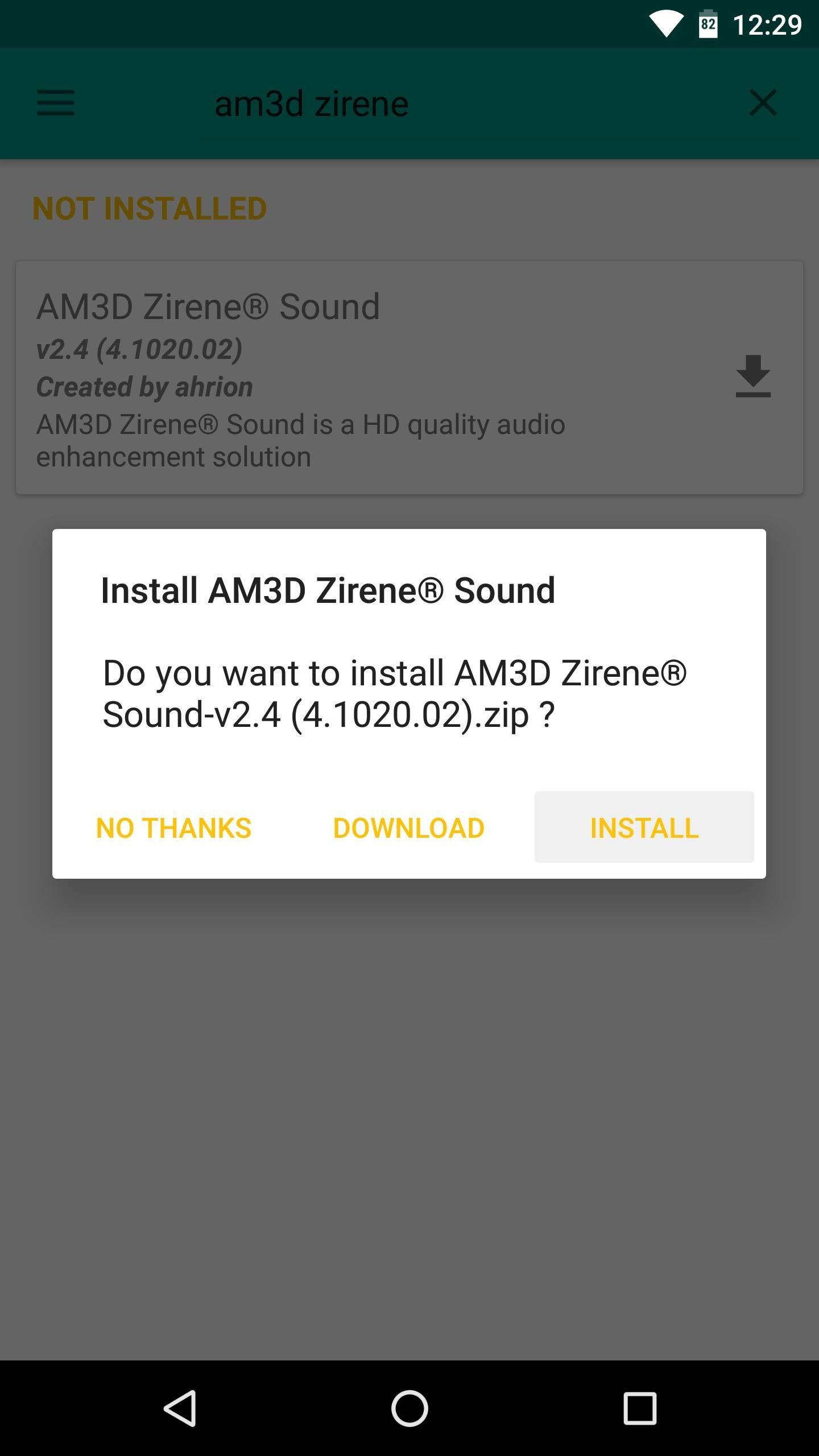 Get a 3D Stereo Sound Effect on Any Android