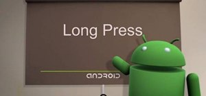 Long press on Android cell phones (1.5/1.6)