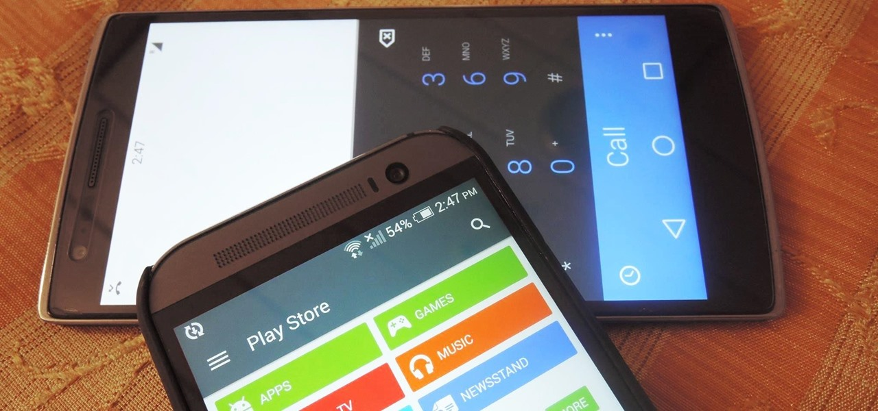 Blend Your Android's Status & Nav Bars to Match Any App's Color Scheme