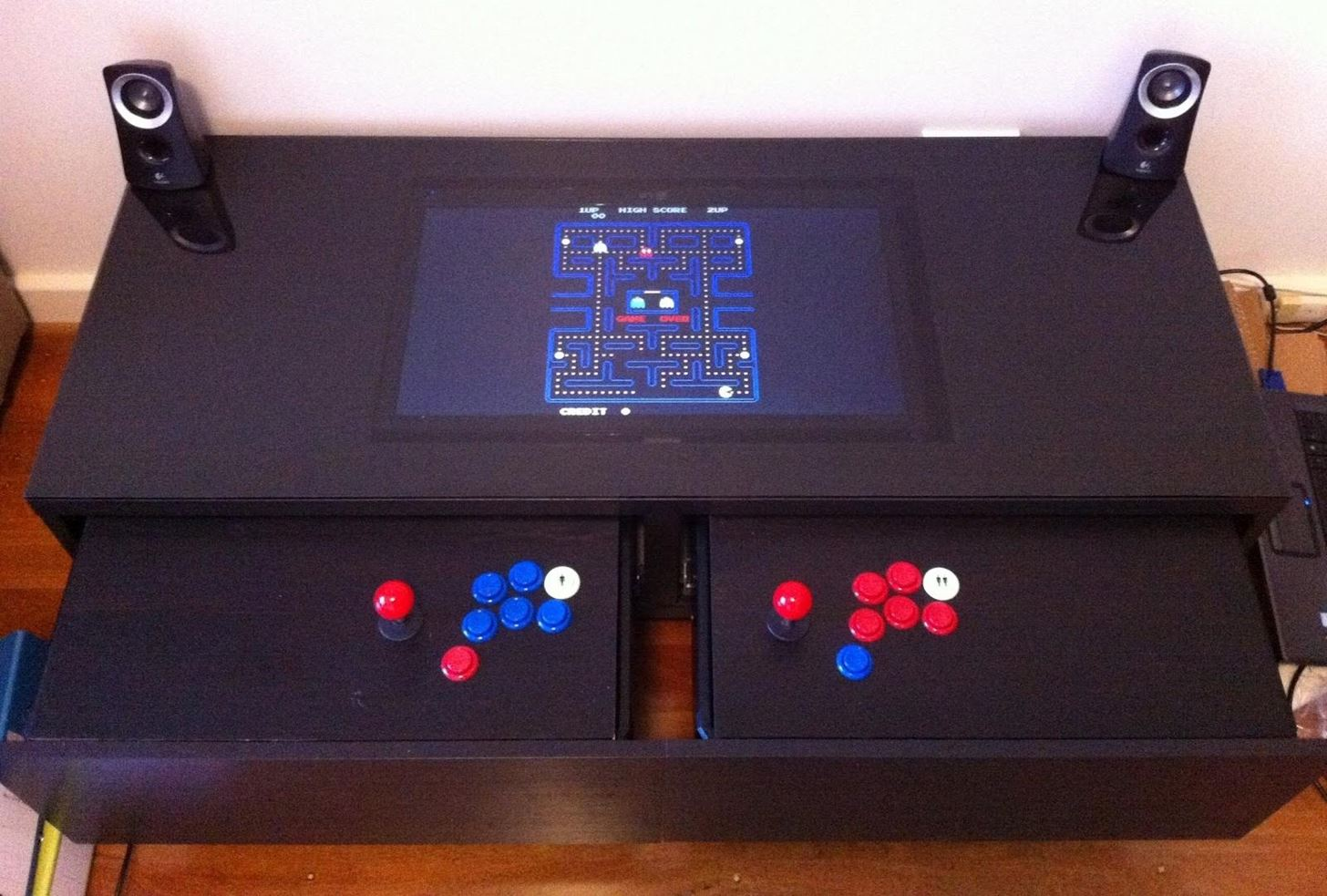 Disguise Your Gaming Addiction with This DIY Coffee Table Arcade Machine
