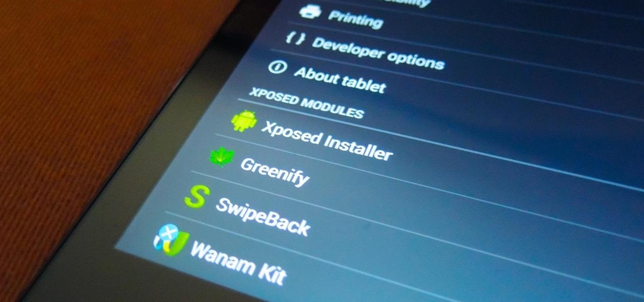 Get Faster Access to Settings for Your Installed Xposed Mods on the Nexus 7
