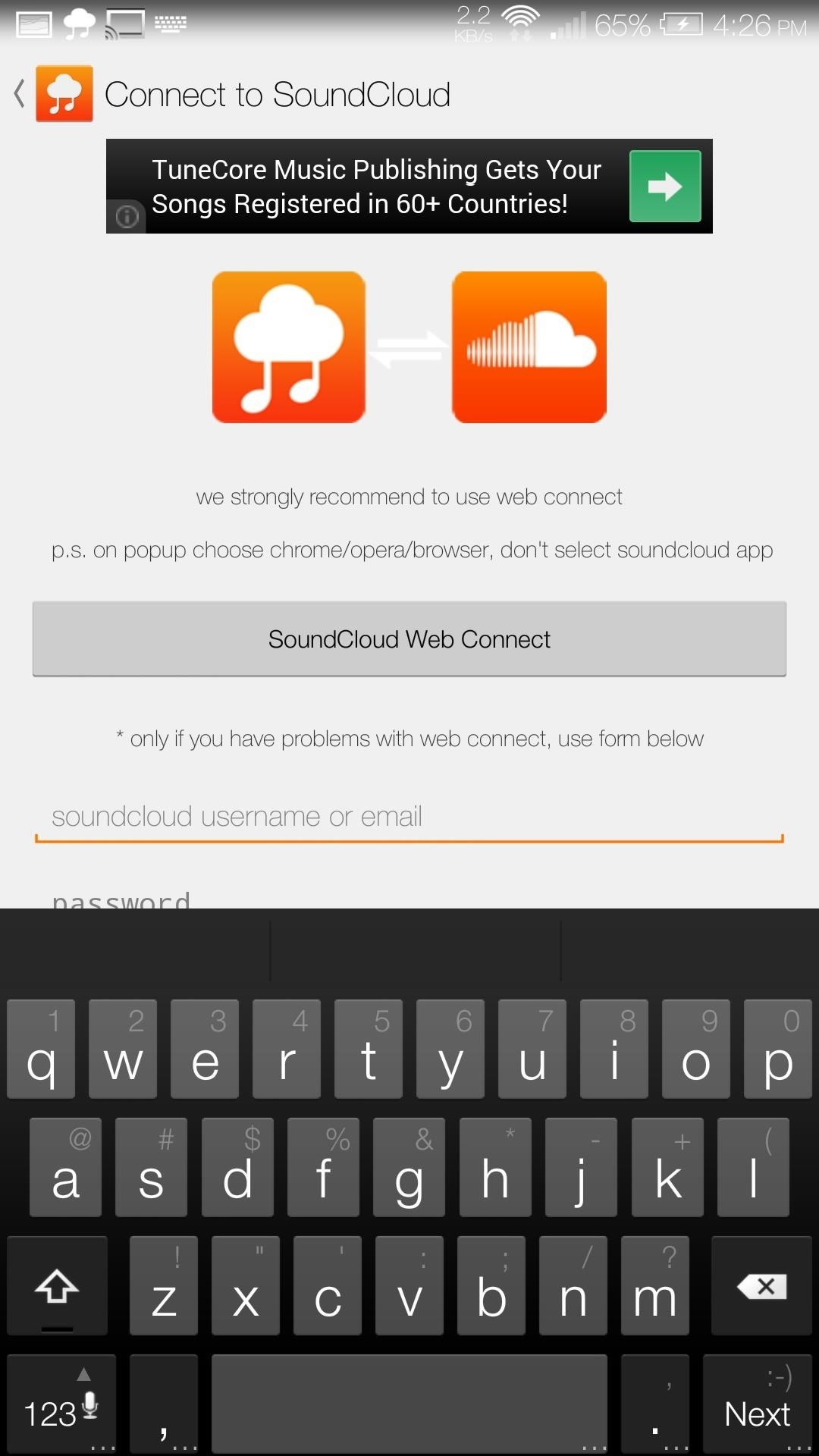 How to stream your favorite soundcloud tracks to your chromecast you can use my cloud player without a soundcloud account but you will only be able to create and save playlists locally on your device ccuart Choice Image