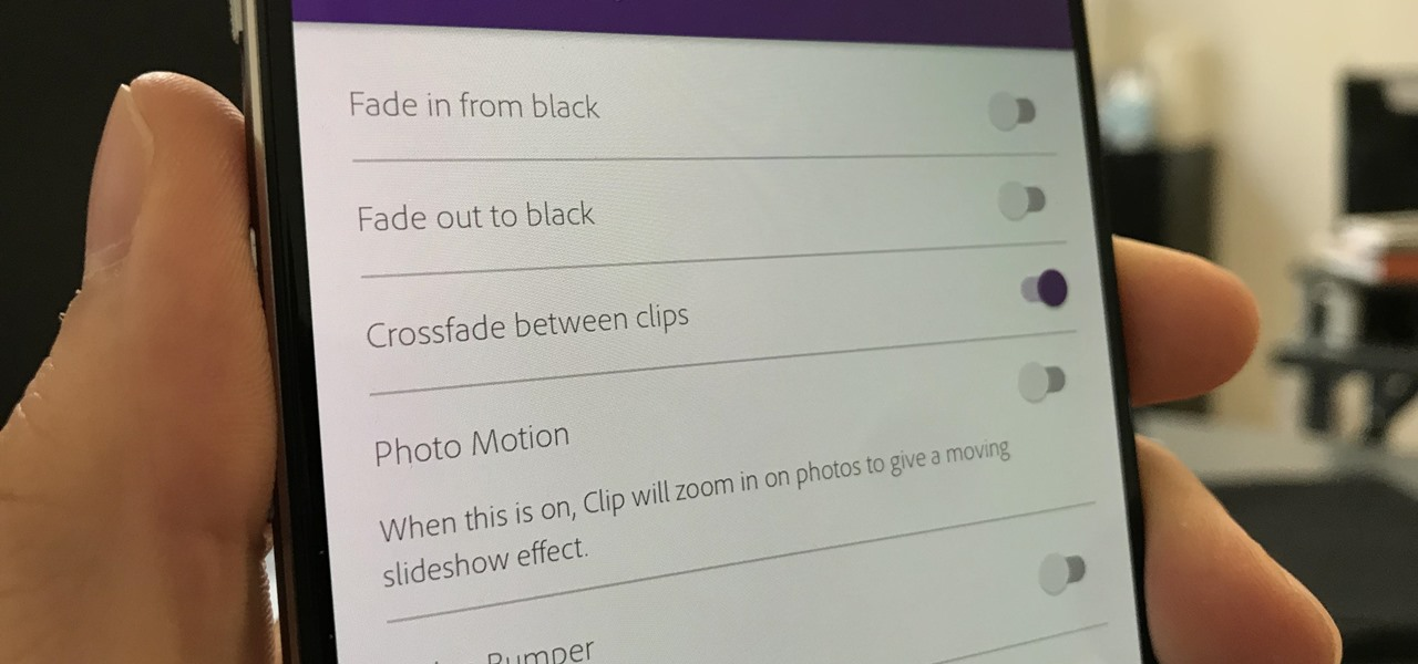 Add Crossfade Transitions Between Video Clips in Adobe Premiere Clip