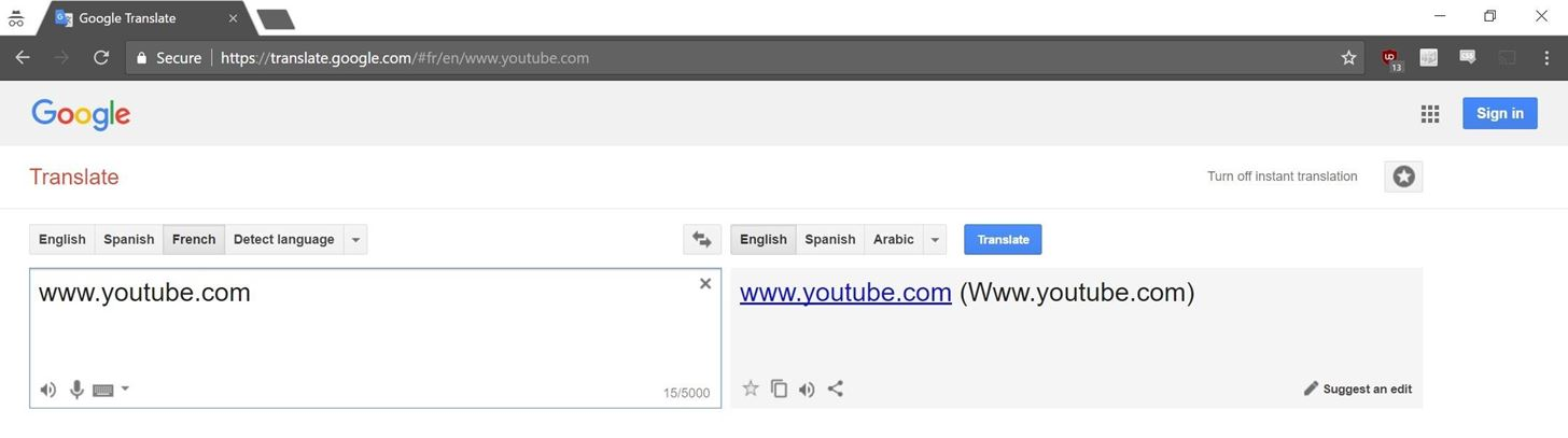 How to Use Google Translate as a Proxy