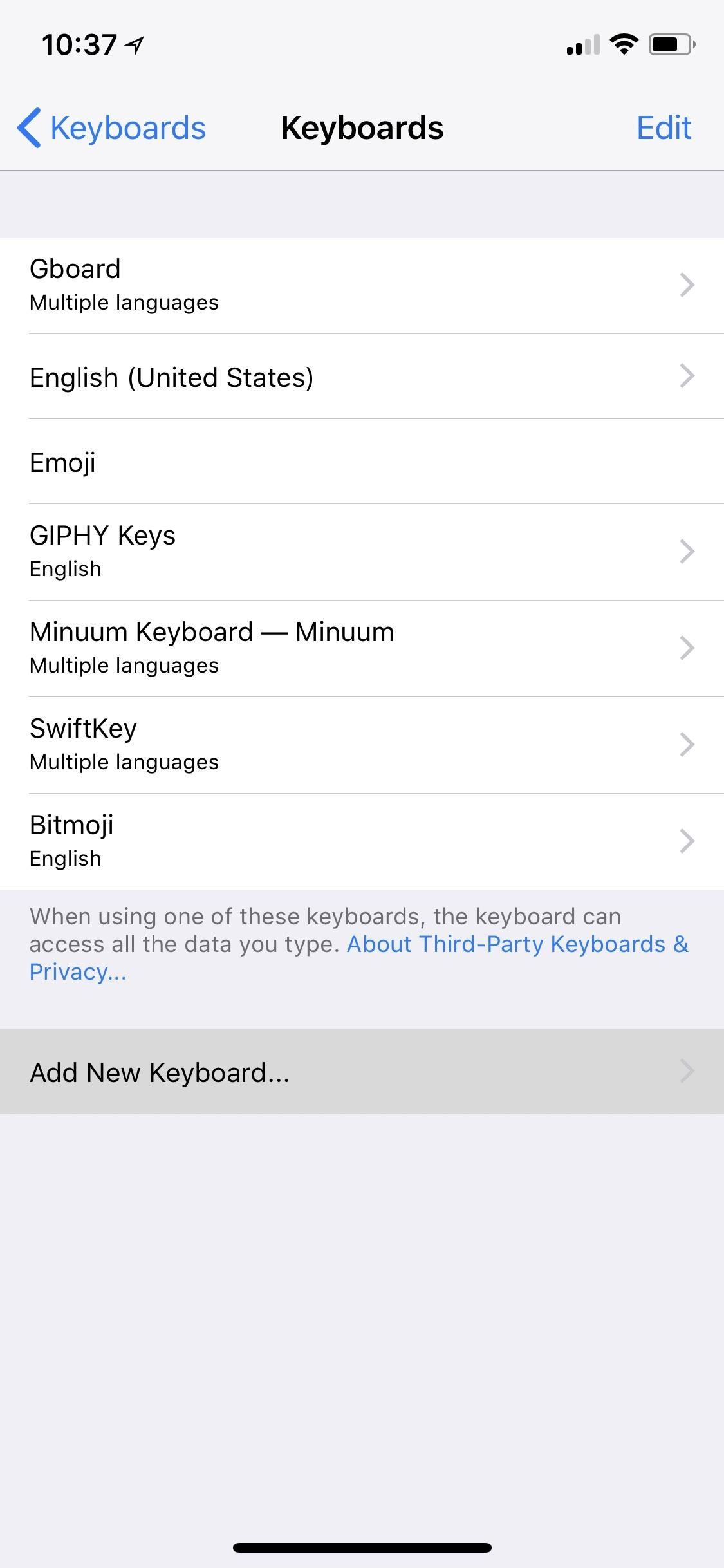 How to Add, Switch, Reorder & Delete Keyboards on Your iPhone