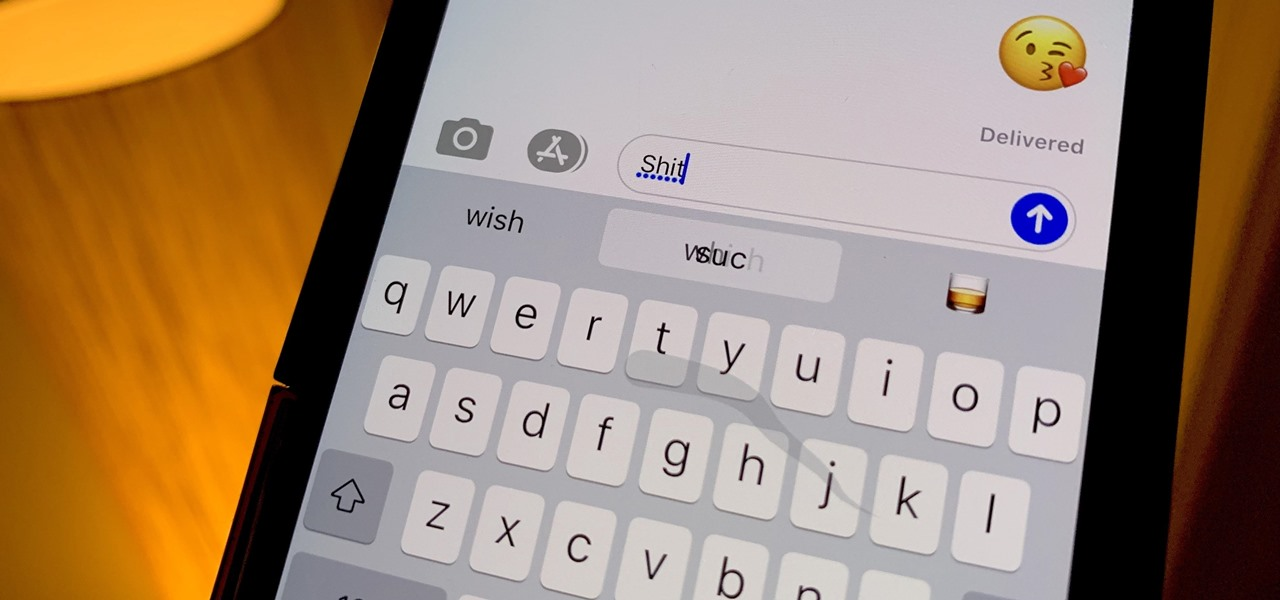 How To: Type Swear Words with the Swipe-to-Type Keyboard in iOS 13