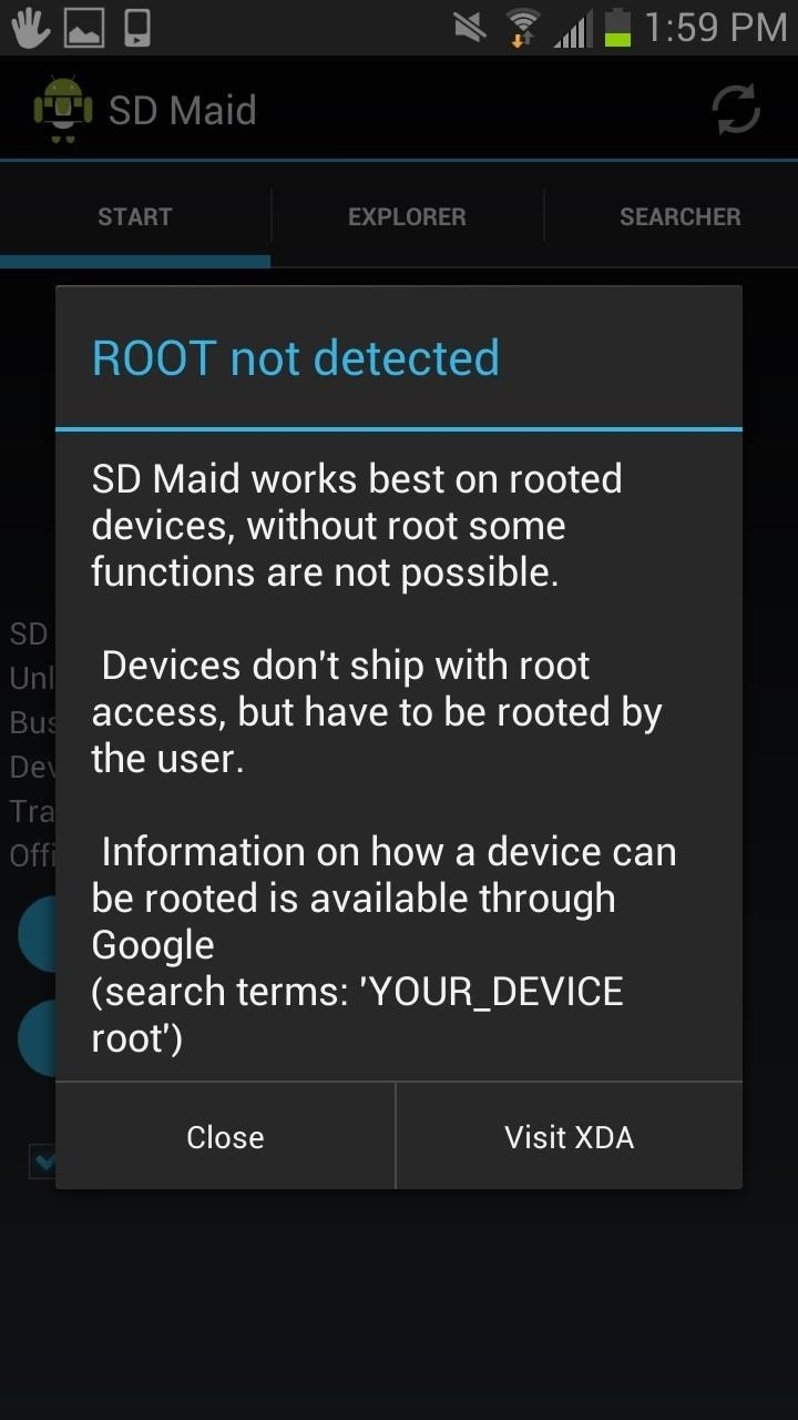 Sd Maid Is Designed For Rooted Devices, But It Does Work With Nonrooted  Android Devices Obviously You Won't Have Access To The Rootonly Features,