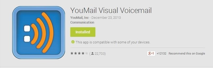 How to give your friends custom voicemail greetings unwanted once you do and open it up the app will guide you through the setup process youll enter your number and create an account with your email address and a m4hsunfo