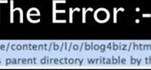 "Fix an ""unable to create directory"" WordPress error"