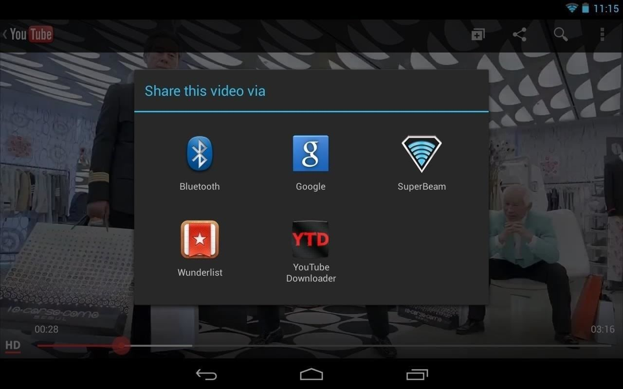 How to Watch YouTube Videos Offline on Your Nexus 7 Tablet