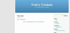 Add, edit and categorize links on a WordPress blog