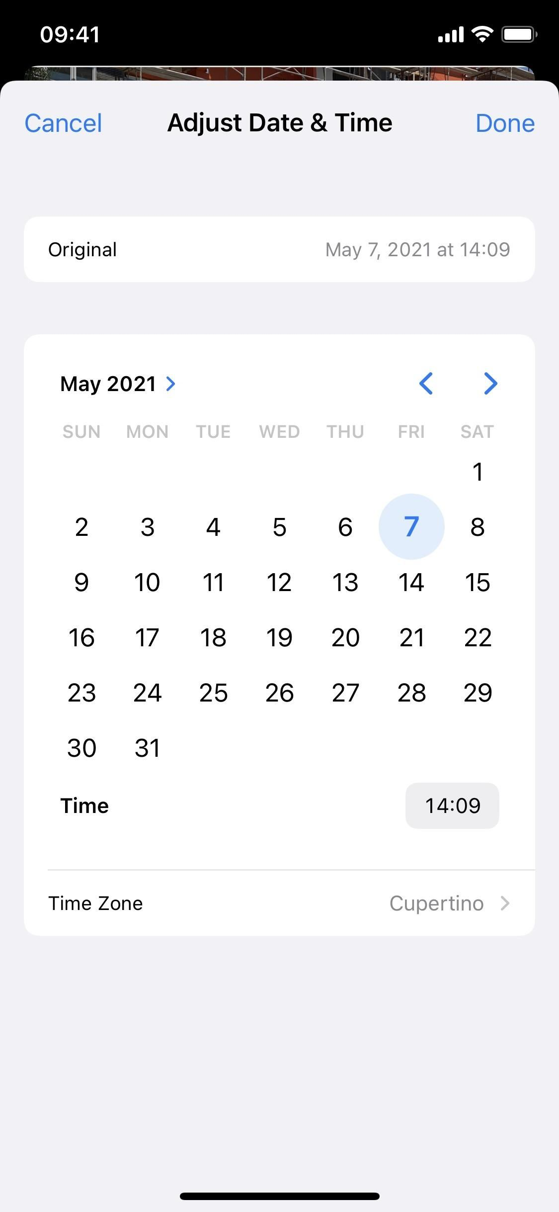 iOS 15 Makes It Really Easy to Change the Location & Date/Time for Any Photo or Video