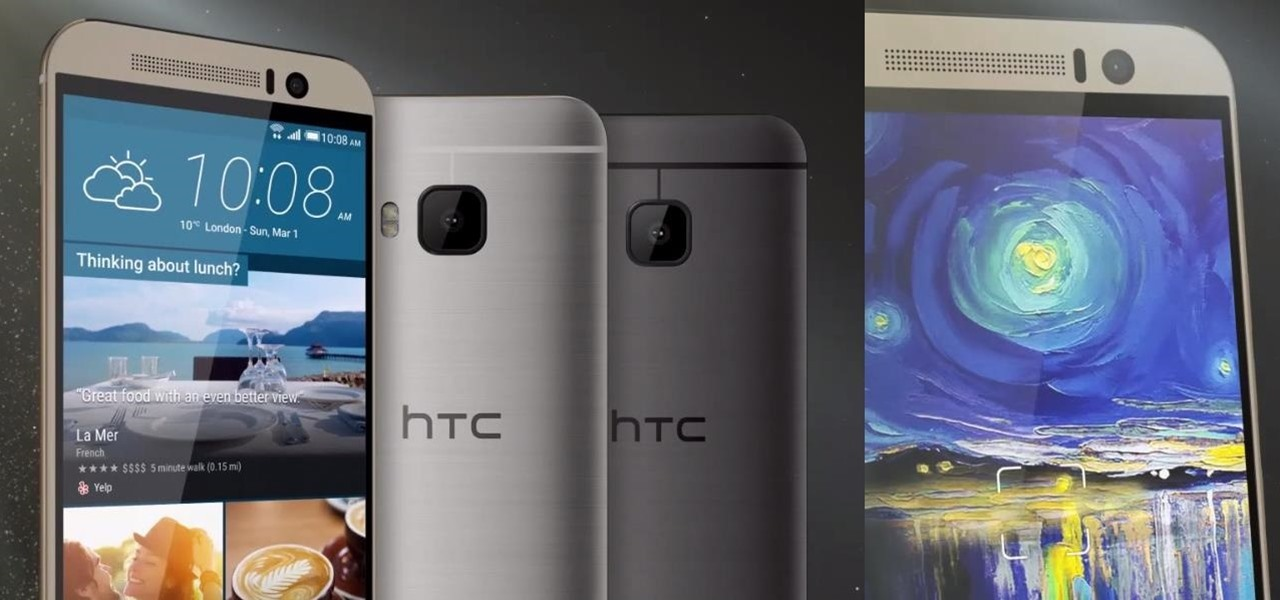 Leaked Videos Show Off the HTC One M9