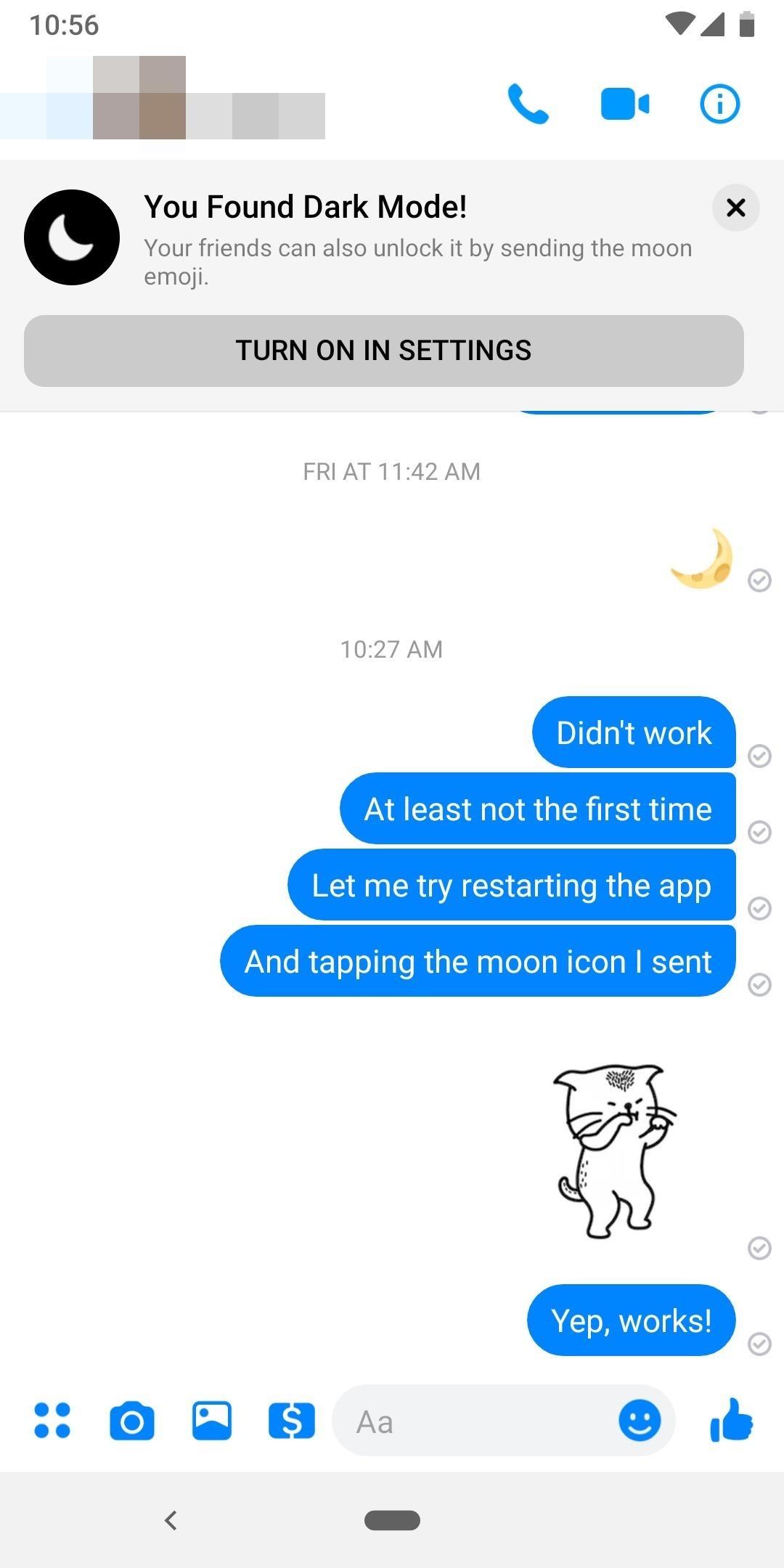 How to Activate the Hidden Dark Mode in Facebook Messenger