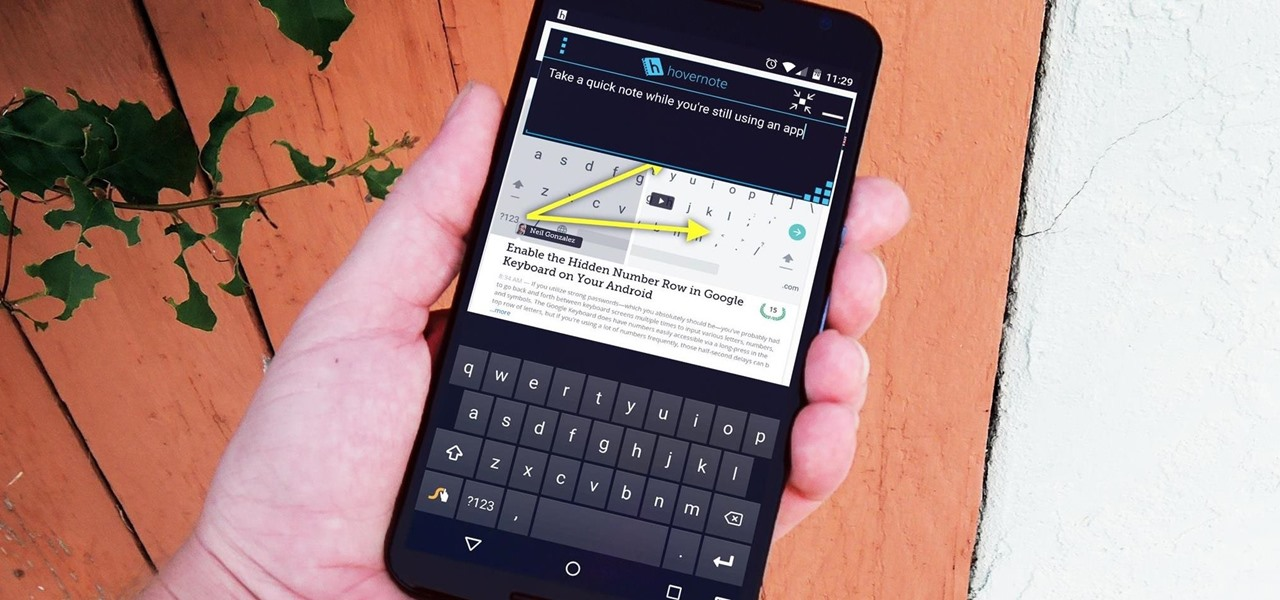 Take Quick Notes on Android Without Leaving Your Current App