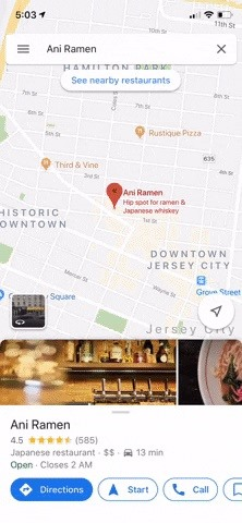 How to See Live & Average Wait Times for Your Favorite Restaurants in Google Maps