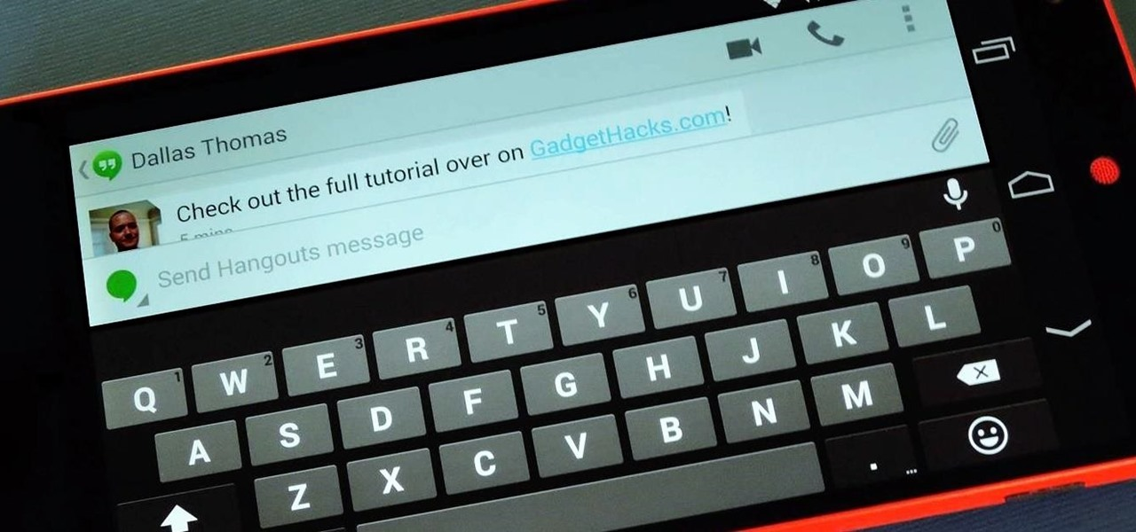 Increase Visible Screen Space When Using a Landscape Keyboard on Android