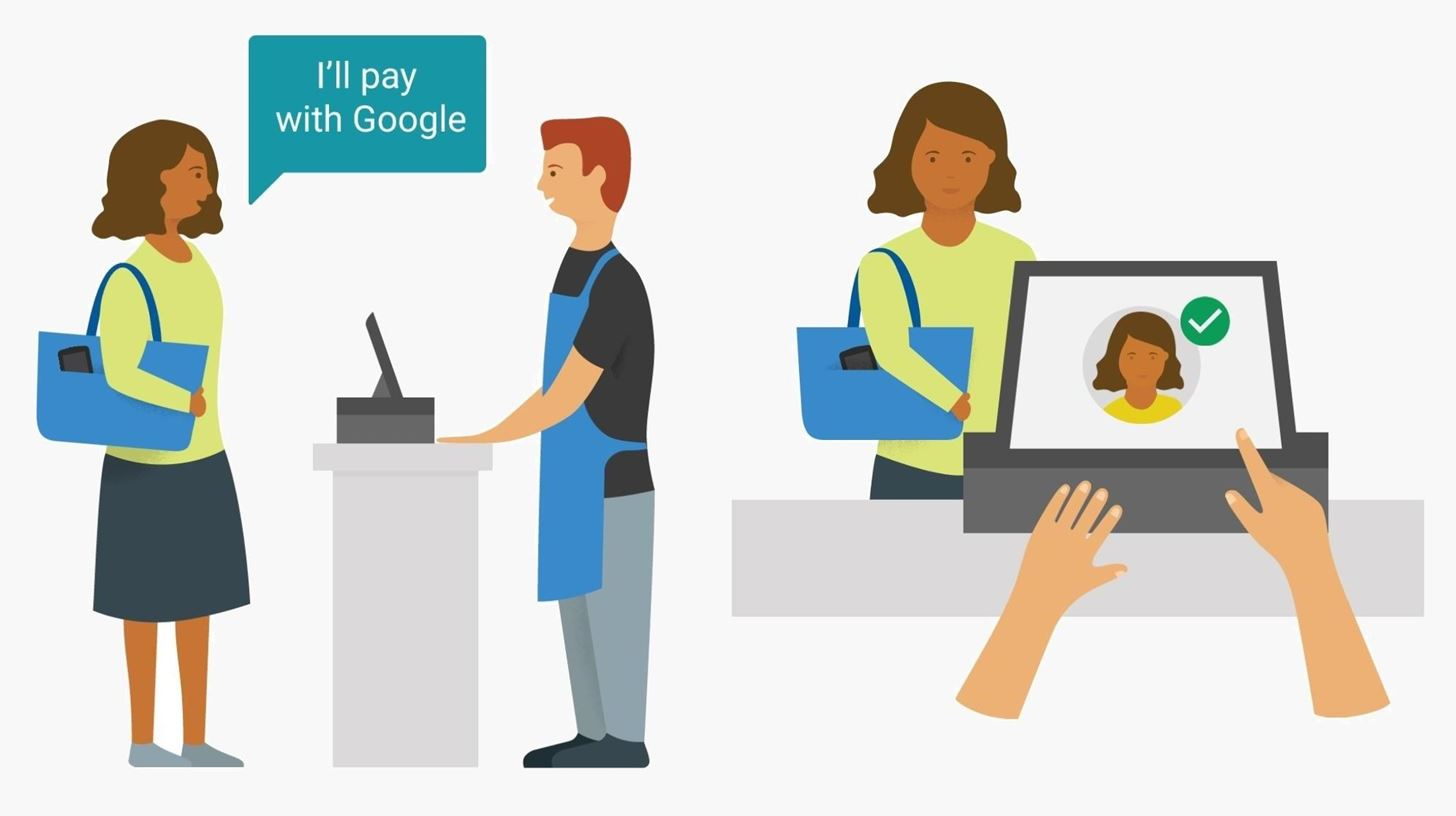 Google Will Soon Let You Pay for Things with Your Face