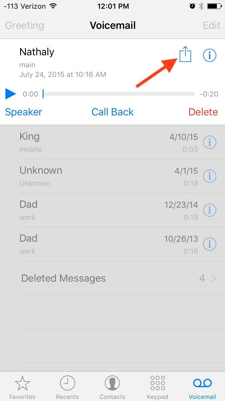 how to forward voicemail on iphone how to forward amp save voicemails on your iphone 18827