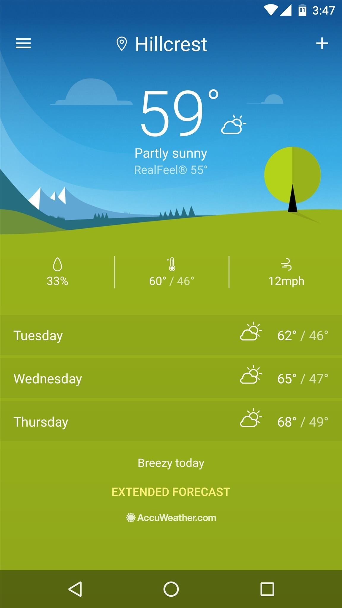 How to Get Sony's Xperia Weather App on Any Android Device