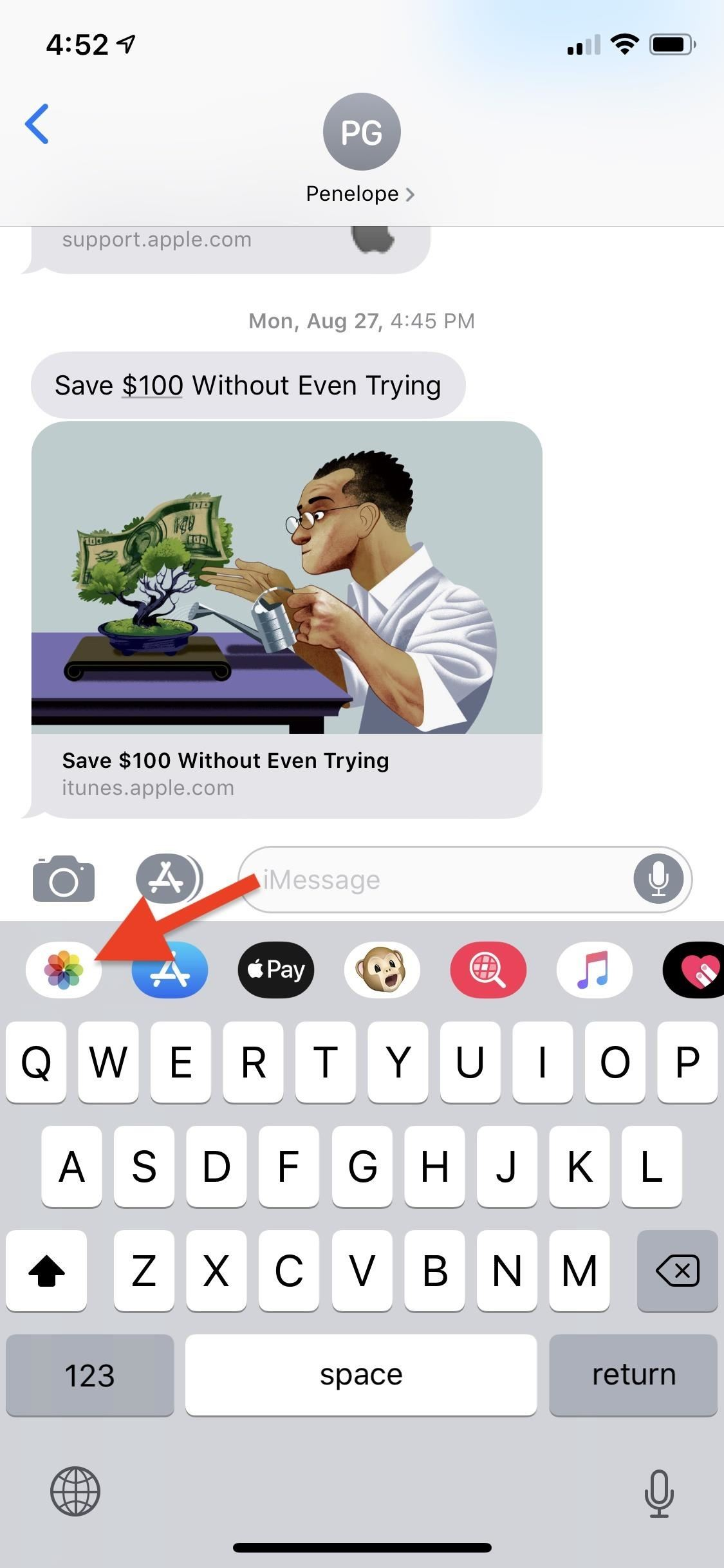 Sending Photos in Messages It's Just Much Annoying in iOS 12