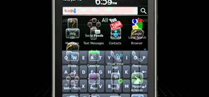 Use the Global Search app on a BlackBerry Torch 9800 smartphone