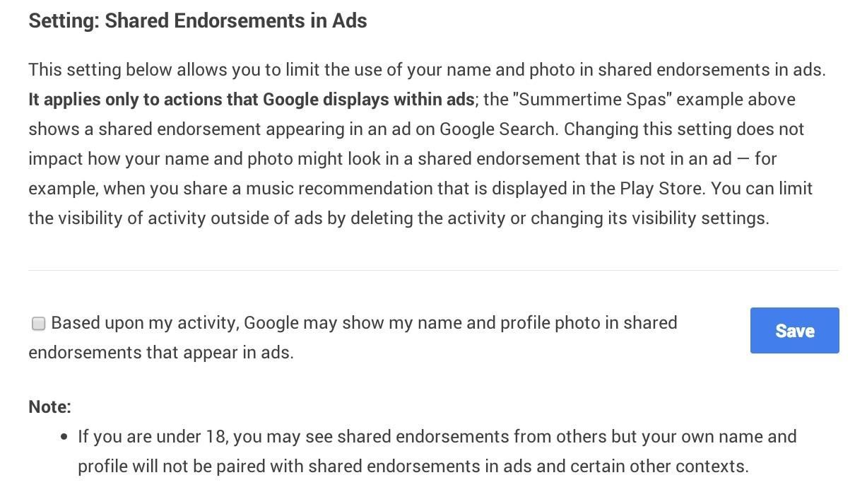 How to Prevent Google from Using Your Profile Picture in Ads