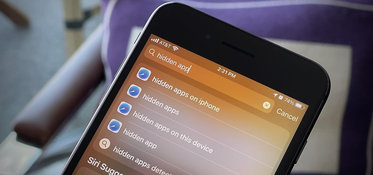 There's a Hidden App on Your iPhone — One That Won't Show Up on Your Home  Screen or App Library « iOS & iPhone :: Gadget Hacks