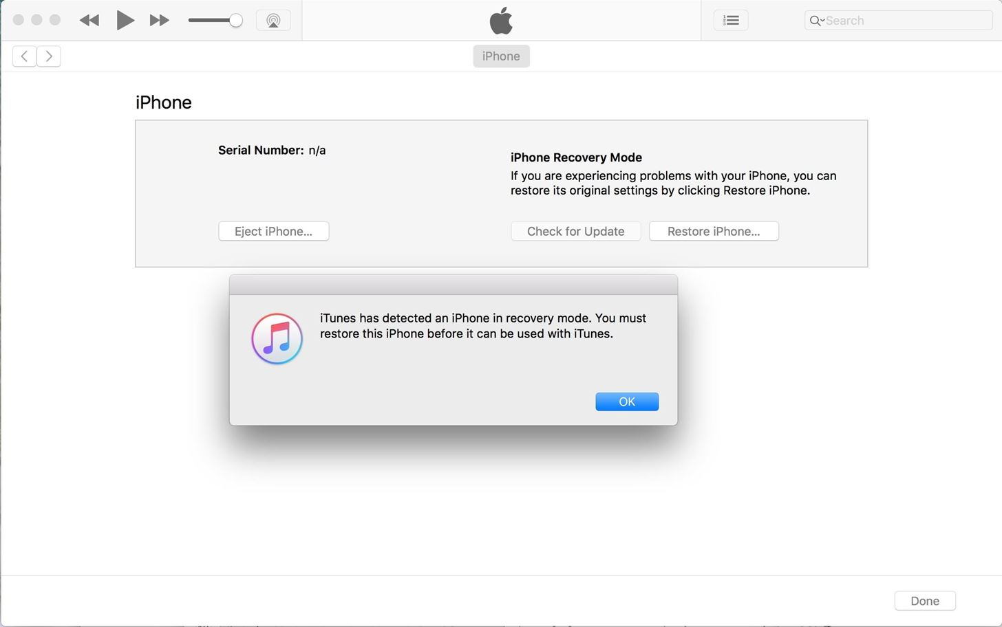 How to Put the iPhone X, iPhone 8, & iPhone 8 Plus into DFU Mode in iTunes