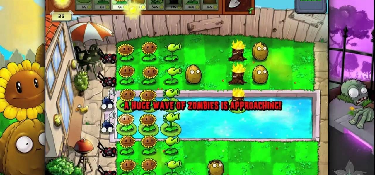 how to beat level 39 of plants vs zombies hd for the ipad