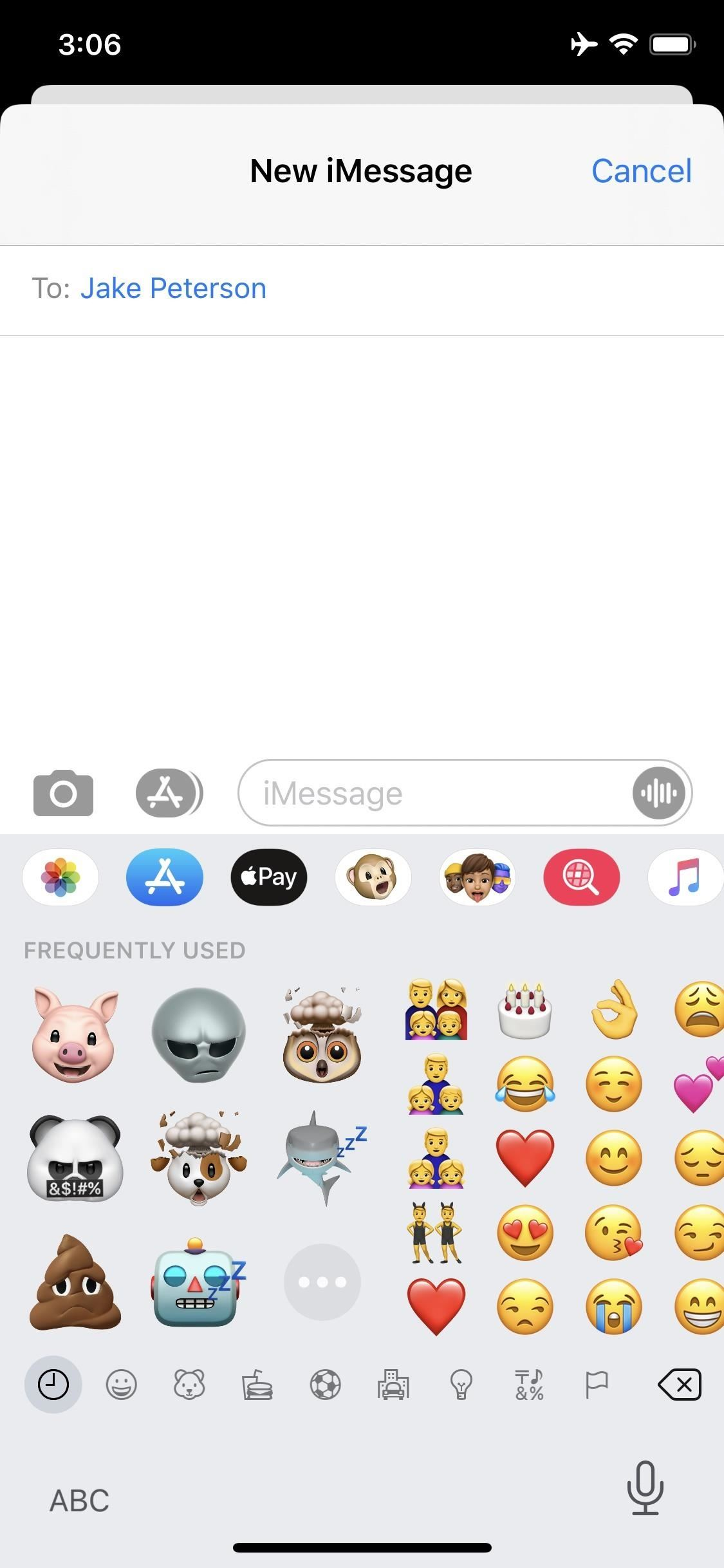 Finally there is a way to disable these annoying Memoji stickers in messages on the iPhone