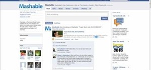 Make a thorough Facebook fan page