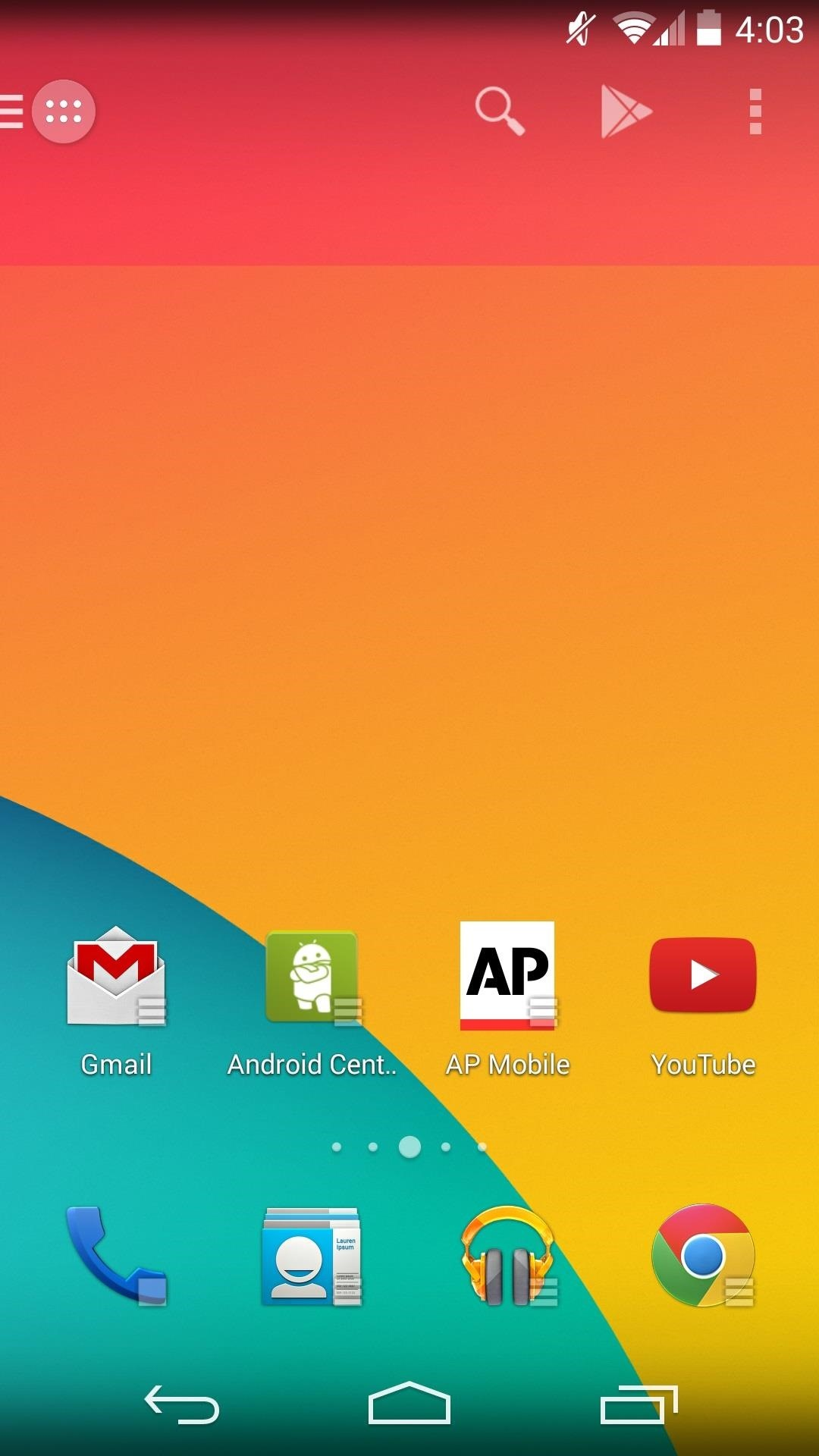 How to Get Instant Access to Apps & Widgets in Just a Swipe on Your Nexus 5