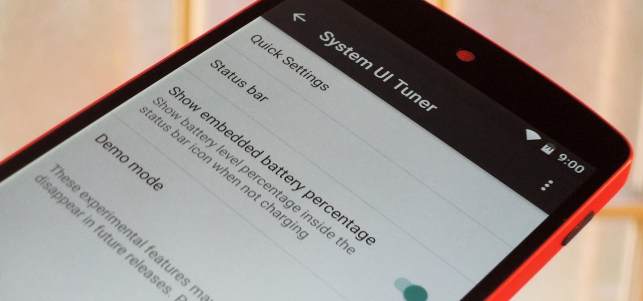 Enable the Hidden System UI Tuner Menu in Android Marshmallow
