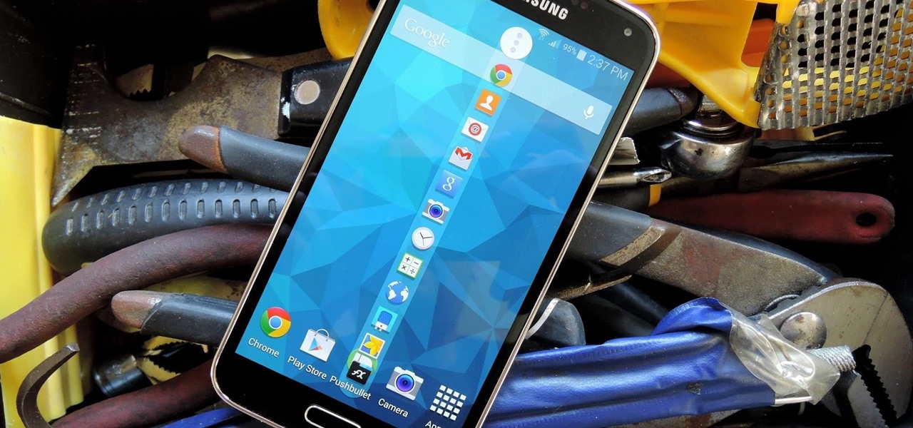 Add More Than Just 5 Apps to Your Galaxy S5's Toolbox Button