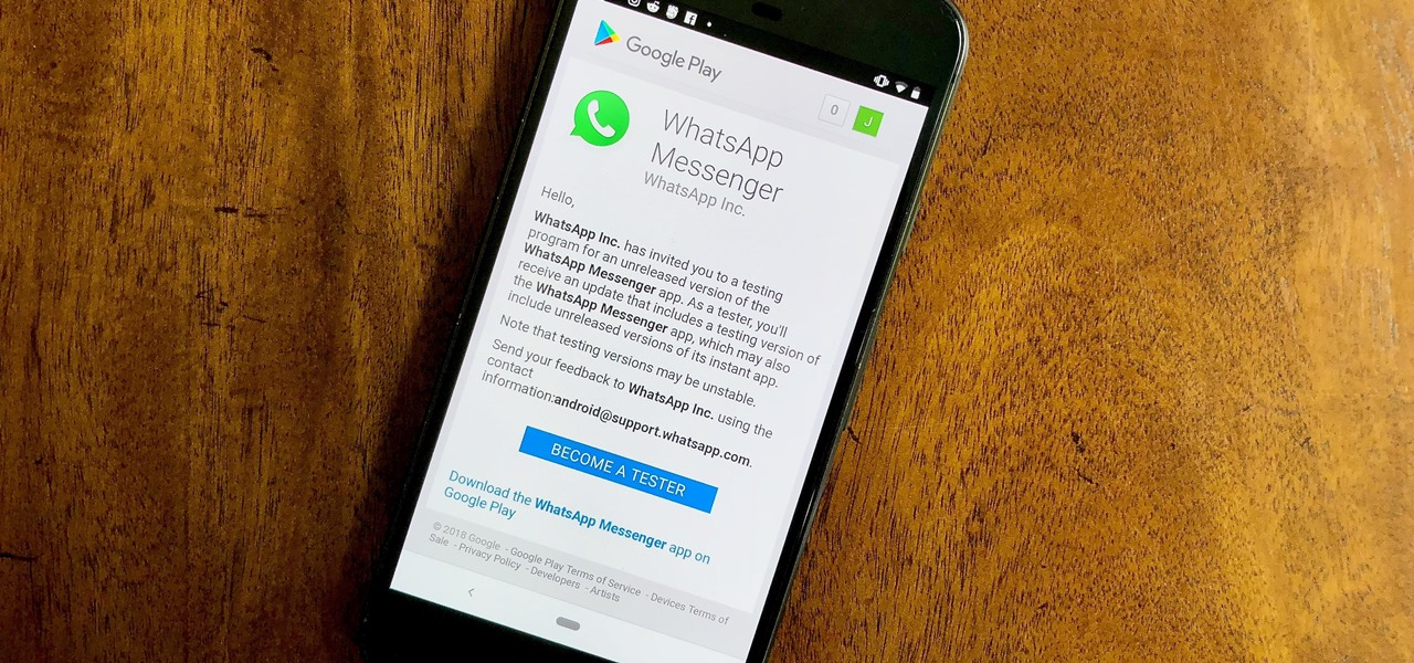 Get WhatsApp's Latest Features Before Anyone Else