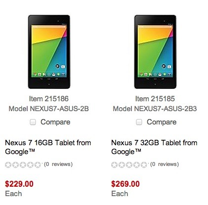 Deal Alert: Get $30 Off the New Nexus 7 Now Until Sunday, 7/28