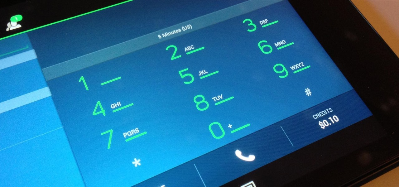 Turn Your Nexus 7 Tablet into a Phone for Free Calls & Text Messages