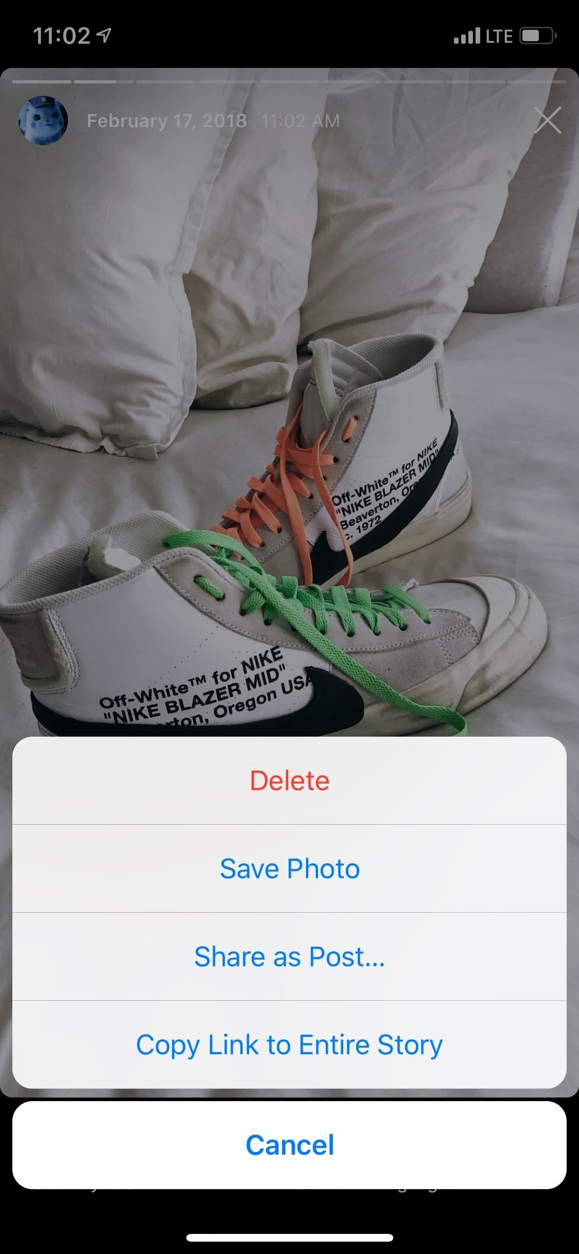 How to show, share, mark and download your archived instagram stories