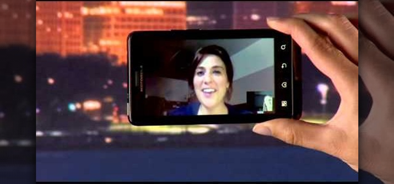 How to Video chat on the Motorola Droid Bionic with Google Talk