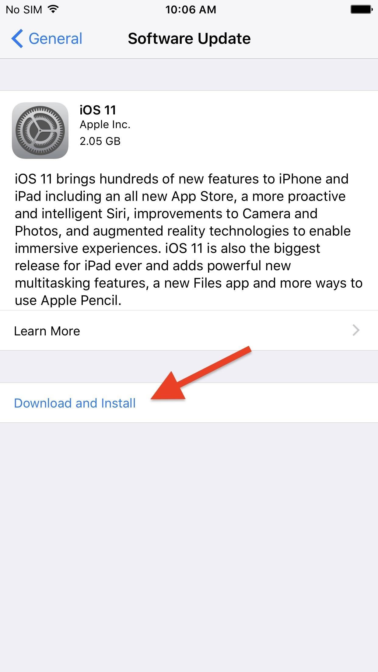 How to Download & Install iOS 11 on Your iPhone