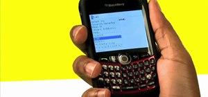 Set custom ringtones on a BlackBerry Curve 8330