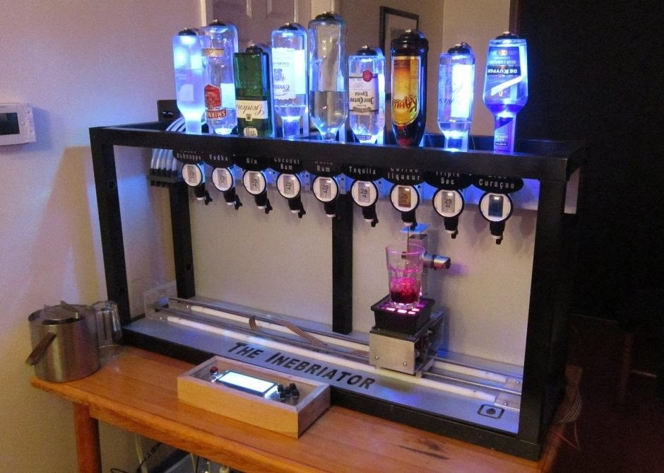 Want a Drink? The Arduino 'Inebriator' Will Pour You 15 Different Cocktails