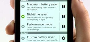 Manage and improve battery life on a Motorola Droid Bionic