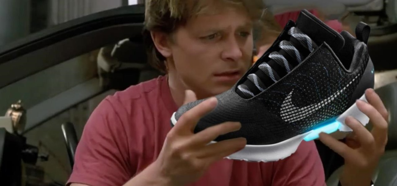 Nike Finally Made the Self-Lacing Shoes We've Wanted Since Back to the Future
