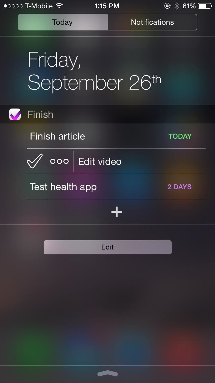 Top 5 Free Productivity Widgets for Your iPad or iPhone