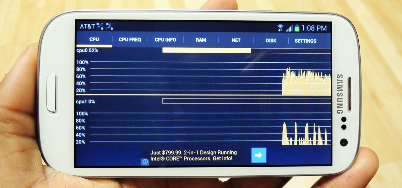 Monitor System Resources Right from the Notification Tray on Your Samsung Galaxy S3