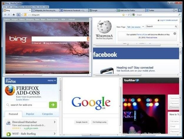 How to Get Split-Screen Browser Windows in Chrome, Safari, Firefox, and Internet Explorer