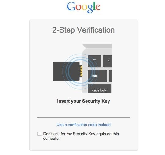 How to Lock Down Your Google Account with Google's New Physical Key
