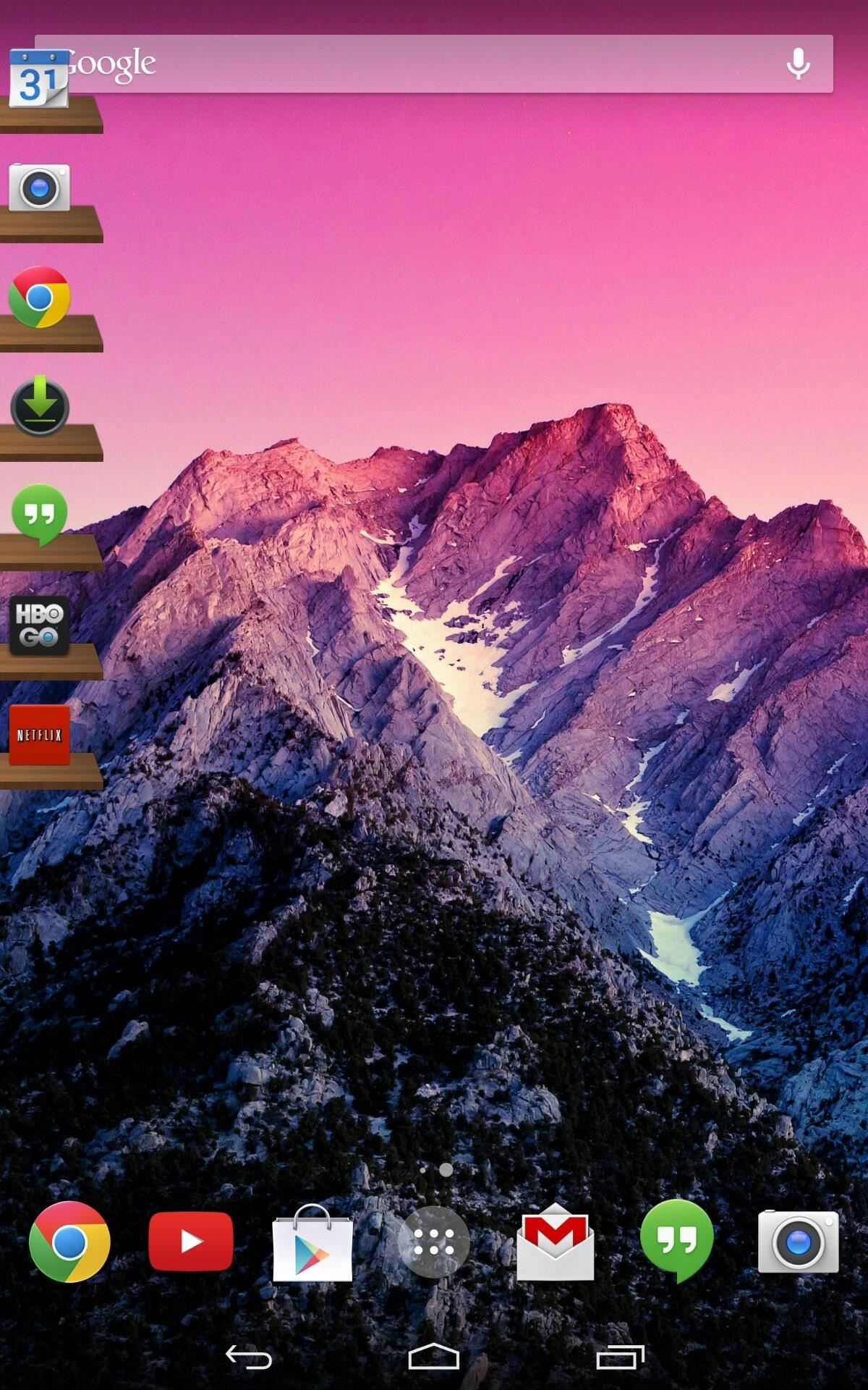 How to Quick Launch Apps from Anywhere on Your Nexus 7 with an Easy Access Side Dock